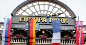 הכניסה לפארק אירופה