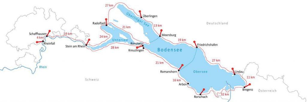 מסלול אופניים סביב אגם קונסטנץ