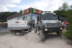 משאית יונימוג של מרצדס